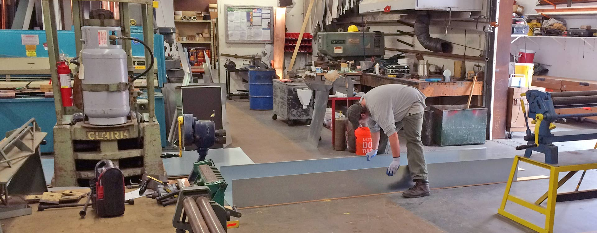 Metal Fabrication at Vermont Roofing